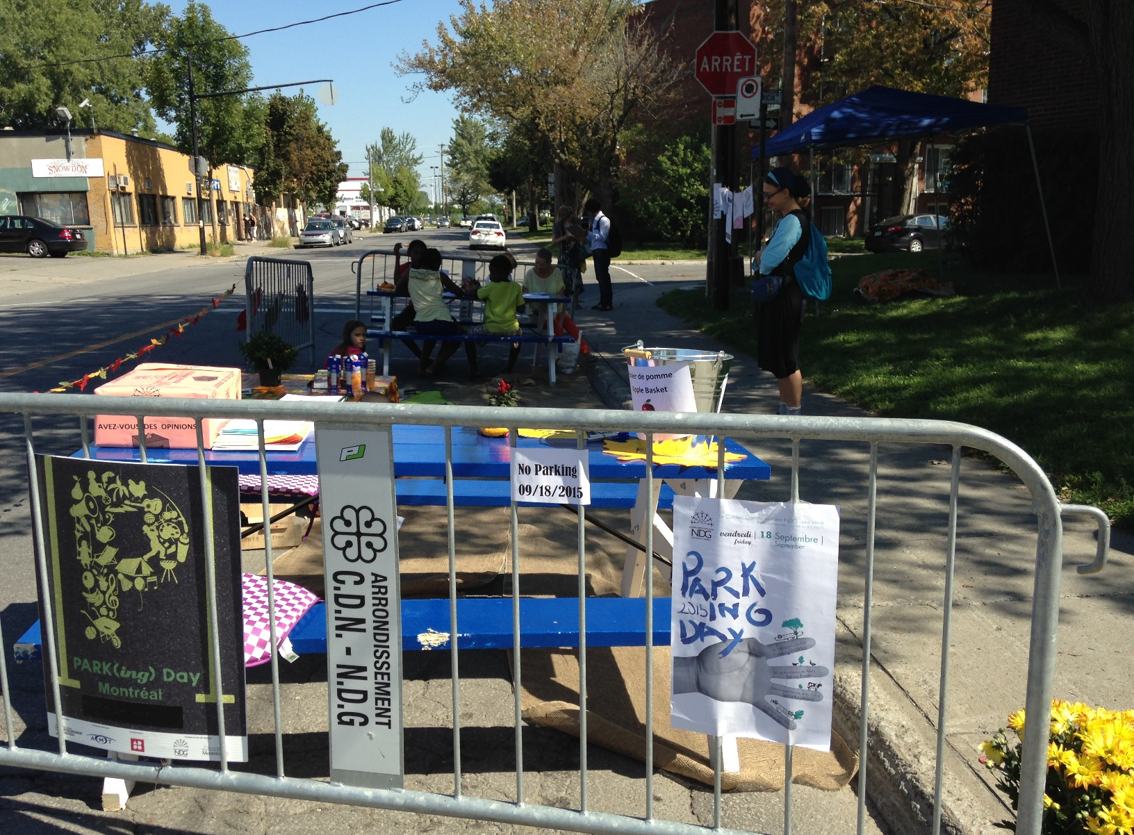 Westhaven Parking Day 2015 pic 1
